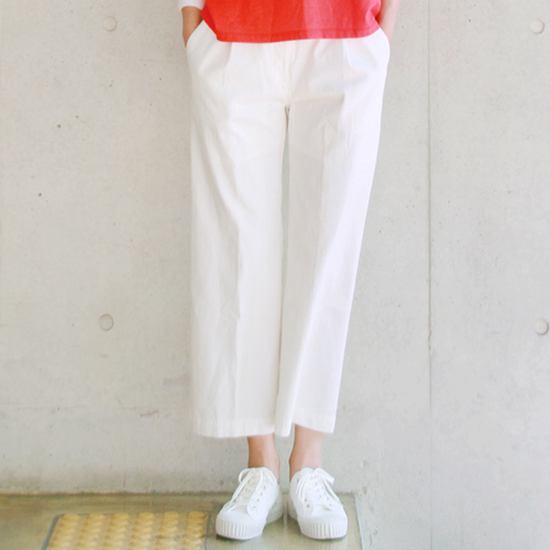 Straight pants _ white
