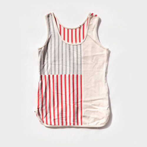 NeLL 8 Cross Line Tank Top