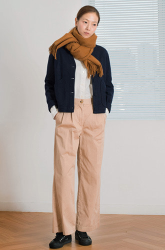 HIGH WAIST WORK PT_CHINO BEIGE